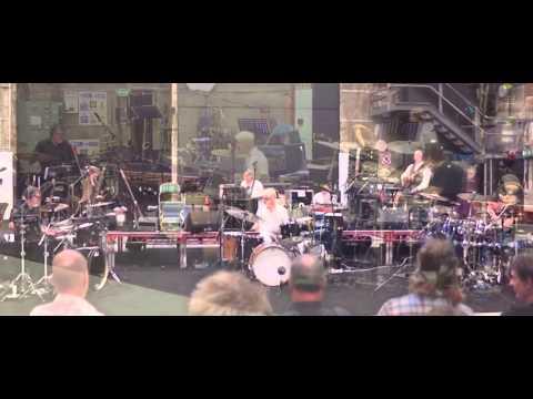 King Crimson drummers solo, Elstree, 2014