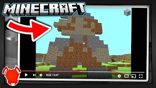 the very first minecraft video ever?