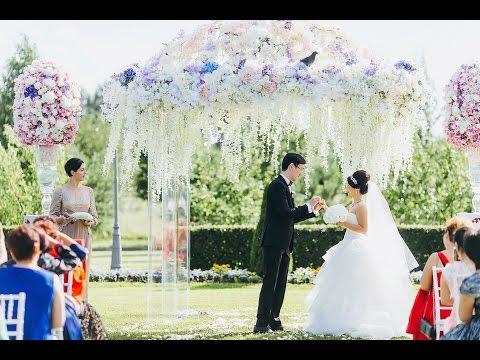 Роскошная свадьба в Летнем дворце