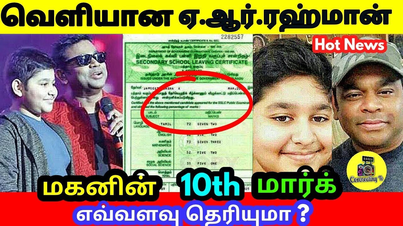Famous Tamil Actor Madavan Son 12th Mark Result-Latest Tamil