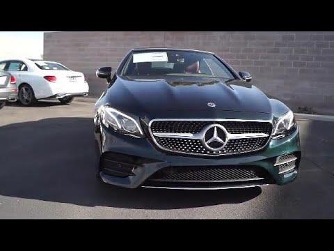 2018 mercedes benz e class e400 cabriolet convertible for Mercedes benz of albuquerque