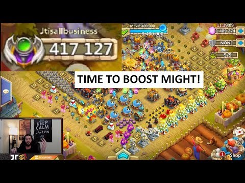 JT's Main MIGHT Boosting To Climb The RANKS Castle Clash