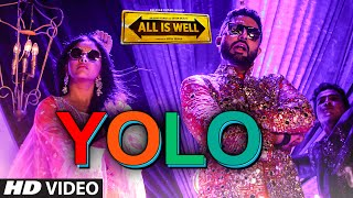 YOLO VIDEO Song | All Is Well | ShreeRaamachaandra | Dr Zeus | T-Series
