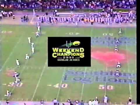 2001 3A South Carolina High School State Championship - Camden Bulldogs vs Union Yellow Jackets