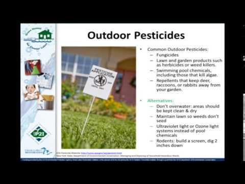 Hazardous Waste at Home - GHCL Webinar