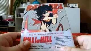 Kill La Kill Volume 1 Limited Edition Bluray/DVD Review Unboxing