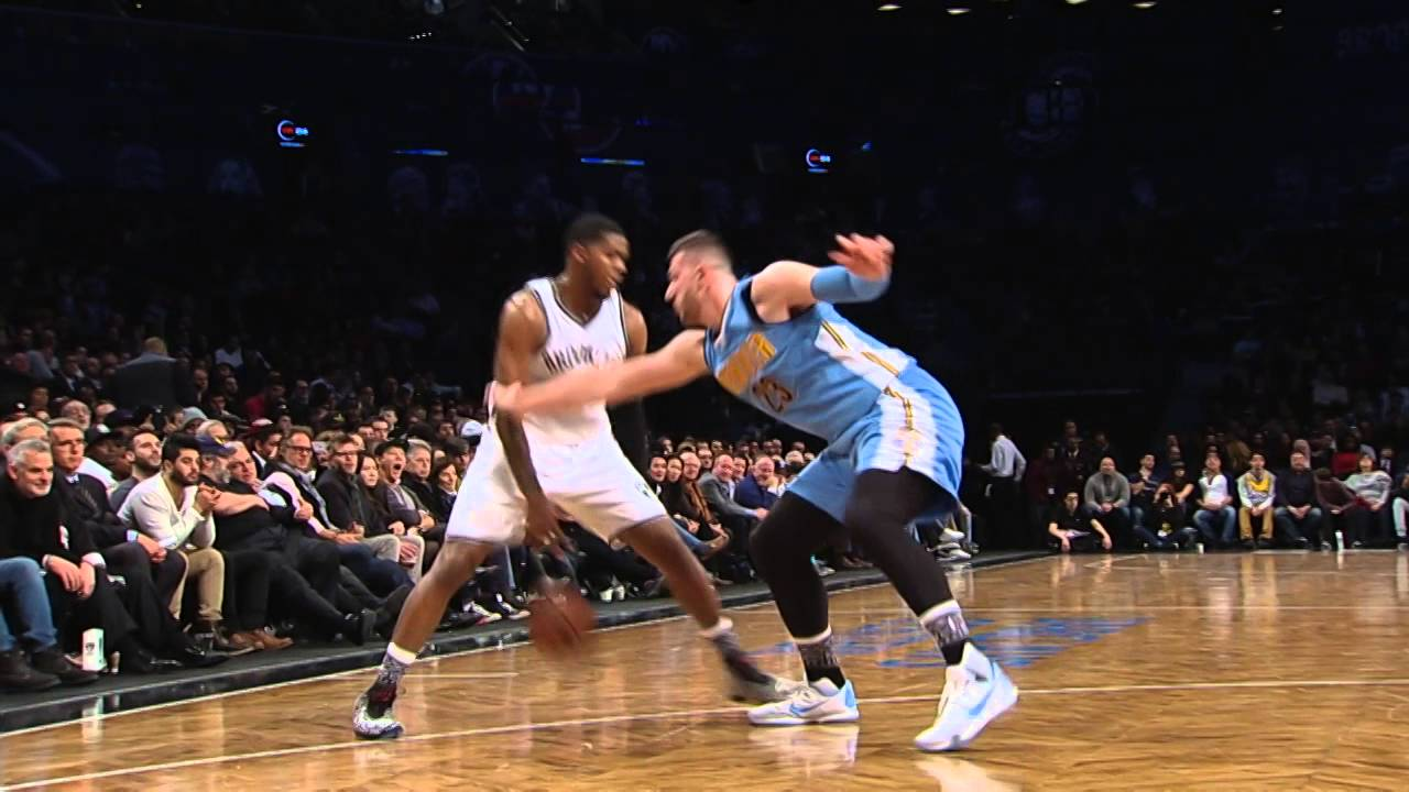 Joe Johnson With The Ankle Breaking Crossover