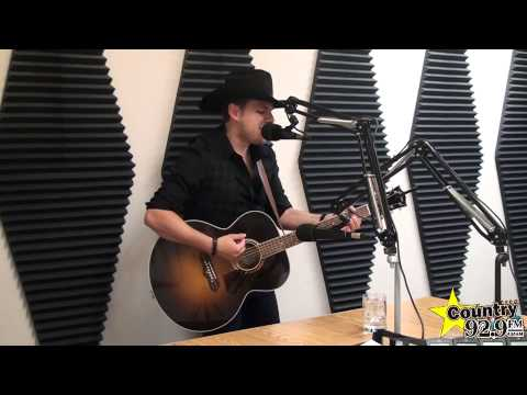 """Brett Kissel - """"Started With A Song"""" - Acoustic performance at Country 92.9 in Chatham"""