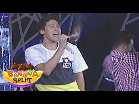 "Enchong Dee sings ""Seloso"" on Banana Split"