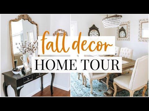 Fall Decor Home Tour & Hobby Lobby Haul | Kendra Atkins