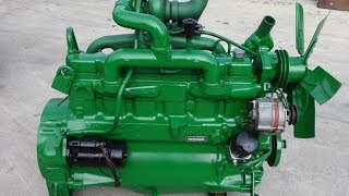 John Deere 6 cylinder turbo engine