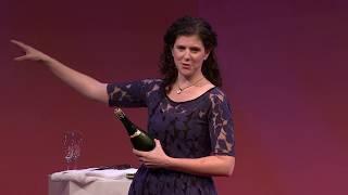 How to saber a bottle of champagne | Margaret Gould Stewart