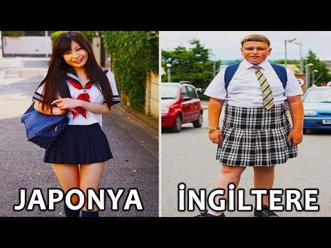 10 Farklı Ülkeden Zorunlu Okul Formaları
