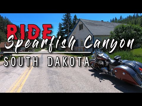 SPEARFISH CANYON & BRIDAL VEIL FALLS RIDE