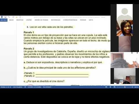 28/05/2021 quinto dos castellano: socializacion de la activdad semana 15