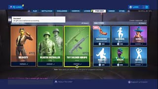 Gifting Skins!! - FORTNITE ITEM SHOP COUNTDOWN June 26th item shop Fortnite Battle Royale