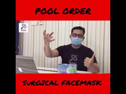 Sebelum Anda Order Surgical Facemask!! Wajib Tonton Video Ini Terlebih Dahulu!!!