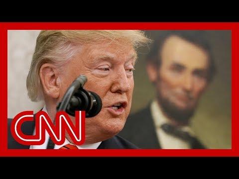 Historian calls Trump's tweet 'scary'