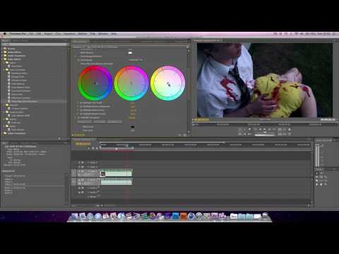 Premiere Pro Tutorial : Color Correcting & Color Grading