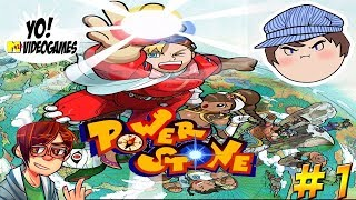 Powerstone! With Lythero and Ross from Game Grumps! Part 1 - YoVideogames