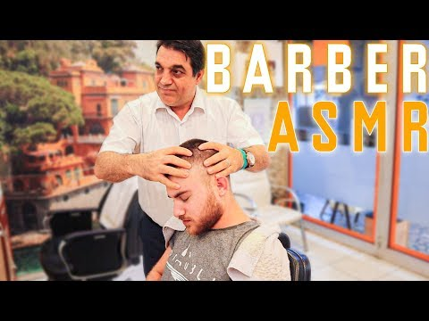 ASMR TURKISH BARBER MASSAGE, EFFECTIVE AND TRADITIONNEL • YOUR SLEEP CURE