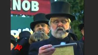 Punxsutawney Phil 2017 - Groundhog Day 2017