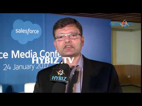 Srinivas Tallapragada | Salesforce Company Center Inaugurated in Hyderabad