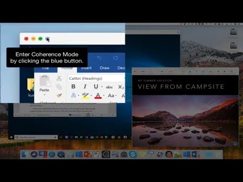 Coherence Mode [Parallels Desktop] - How To Switch Between Mac And Windows