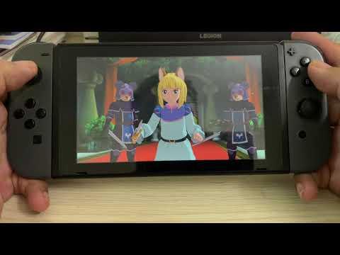 Ni No Kuni 2 Revenant Kingdom Prince's Edition Nintendo Switch 8 Minutes of handheld gameplay |