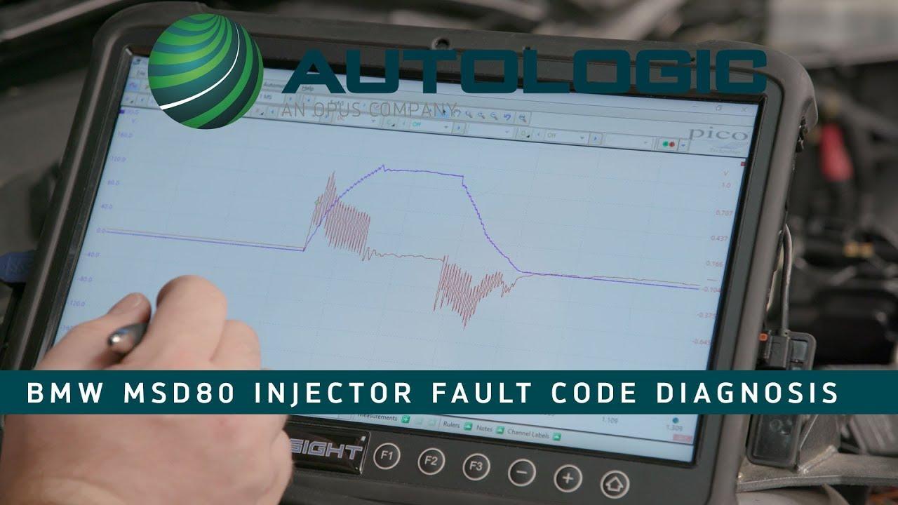 BMW MSD80 Fuel Injector Fault Code Diagnosis - 30BA 30BB