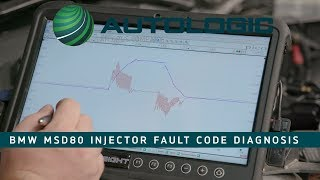 BMW MSD80 Fuel Injector Fault Code Diagnosis - 30BA 30BB