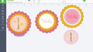 Print Then Cut Cupcake Toppers in Design Space - Cricut Design Space