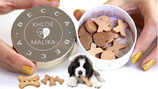 Makeup Dog Biscuits? Becca x Khloe & Malika Glow Letters | THE MAKEUP BREAKUP