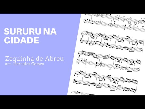 "<span class=""title"">SUURU NA CIDADE |Zequinha de Abreu arr. Hercules Gomes|</span>"