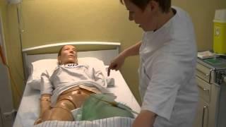 insteekopening suprapubische katheter