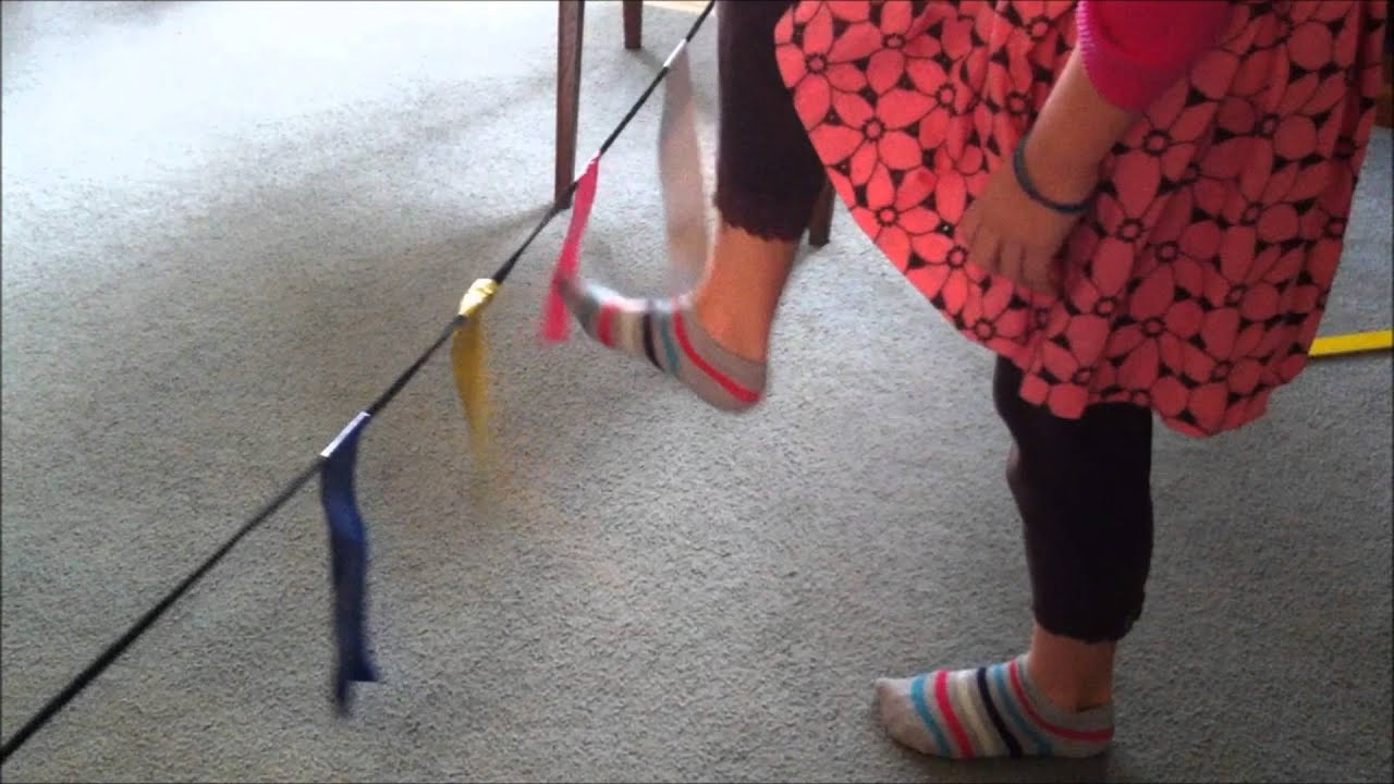 Balance and motor memory duct tape activities youtube for What is motor planning
