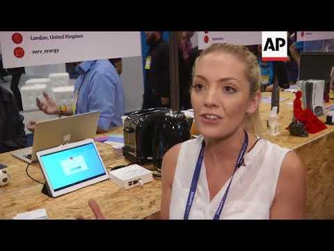 Startups showcase green-themed tech at LIsbon's Web Summit