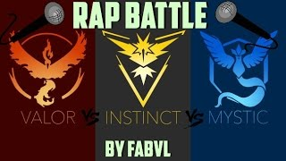 TEAM RAP BATTLE! - POKEMON GO