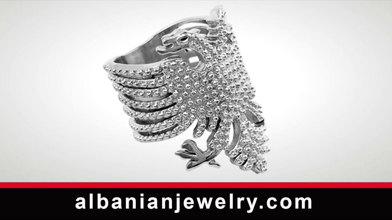ampia scelta di colori e disegni andare online scegli originale Anello albanese | Albanian Jewlery