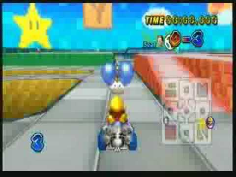 Mario Kart Wii Battle Glitch
