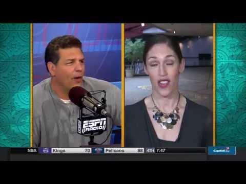 Rebecca Lobo vs Mike Golic