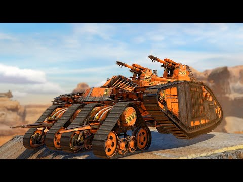 The Best Cannon Build I've Found In Crossout