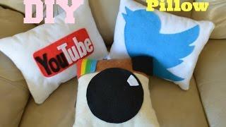 ✂ DIY: Social Media Pillows