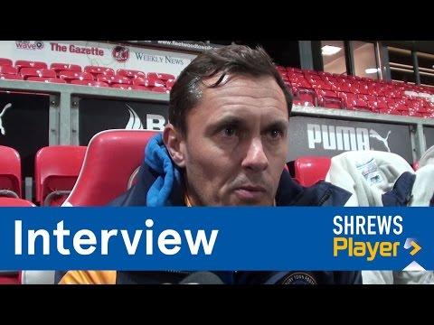 INTERVIEW | Paul Hurst post Fleetwood Town (A) - Town TV