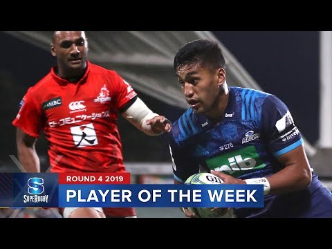 PLAYER OF THE WEEK | Super Rugby 2019 Rd 4