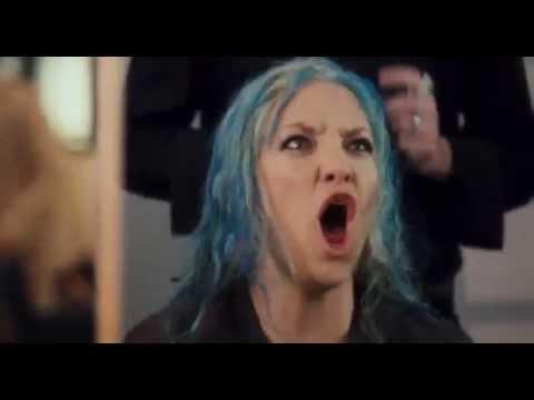 Война невест - отрывок синие волосы