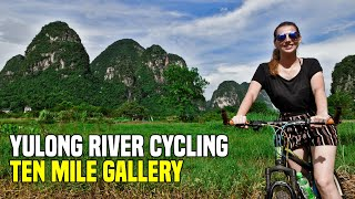 YANGSHUO BY BIKE (the most incredible scenery!) | China Travel
