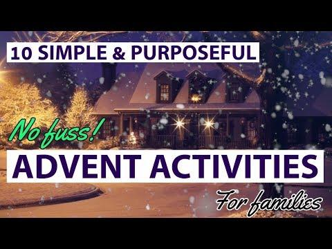 Liturgical Living: simple ADVENT ideas!
