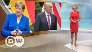 Сенсационная речь Меркель  Европе с Трампом не по пути? – DW Новости (29 05 2017)