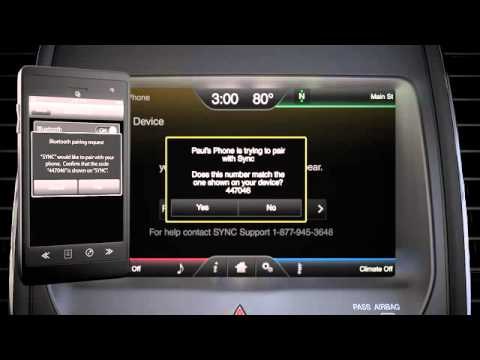 sync 2 pair phone touch screen youtube. Black Bedroom Furniture Sets. Home Design Ideas